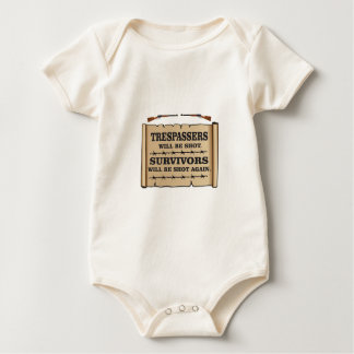 western laws of land baby bodysuit