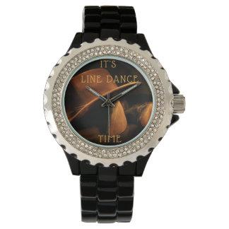 Western LINE Dance wrist-watch Watch