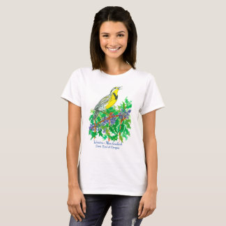 Western Meadowlark Oregon State Bird T-Shirt