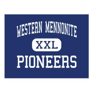 Western Mennonite - Pioneers - High - Salem Oregon Postcard