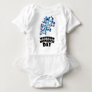 Western Monarch Day - Appreciation Day Baby Bodysuit