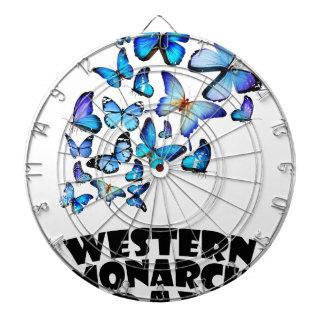 Western Monarch Day - Appreciation Day Dartboard With Darts