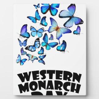 Western Monarch Day - Appreciation Day Plaque