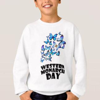 Western Monarch Day - Appreciation Day Sweatshirt