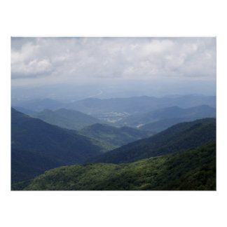 Western NC Mountains Poster
