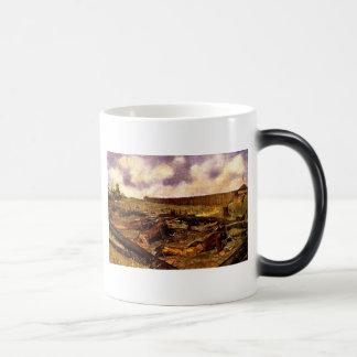 Western Nostalgia 11 Oz Magic Heat Color-Changing Coffee Mug