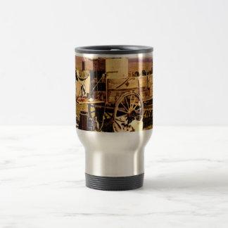 Western Nostalgia 15 Oz Stainless Steel Travel Mug