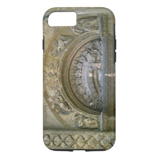 Western opening tympanum depicting the Marriage at iPhone 7 Case
