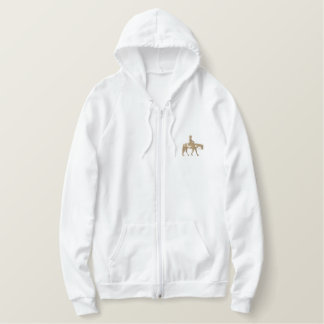 Western Pleasure Horse Embroidered Hoodies