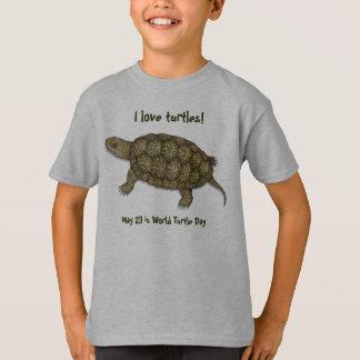 Western Pond Turtle T-Shirt