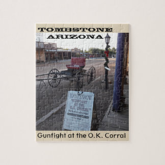 Western Puzzle - Gunfight at the OK Corral in AZ