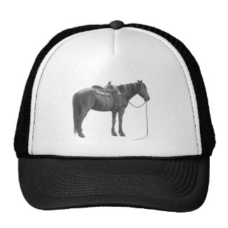 Western quarter horse trucker hat