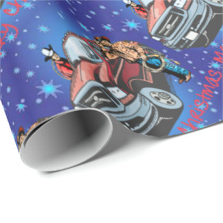 Western Rodeo Cowboy Christmas Gift Wrapping Paper