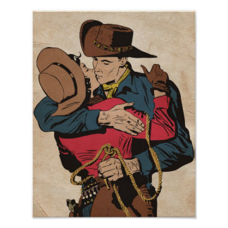Western Romance Poster