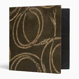Western Rustic Rope Brown ~ Binder 1 Touch EZD