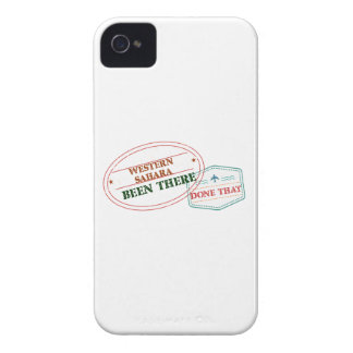 Western Sahara Been There Done That iPhone 4 Case-Mate Cases
