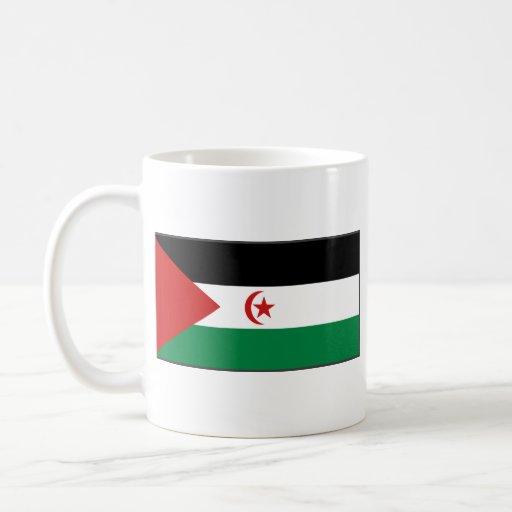 Western Sahara Flag ~ Map Mug