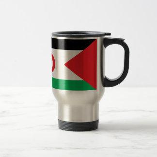 Western Sahara Flag Travel Mug