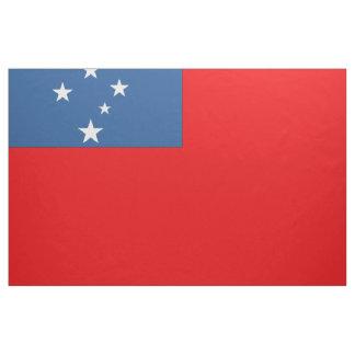 Western Samoa Flag Fabric