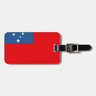 Western Samoa Flag Luggage Tag
