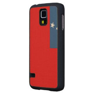 Western Samoa Flag Maple Galaxy S5 Case