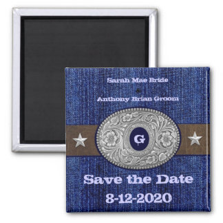 Western Save the Date Magnets