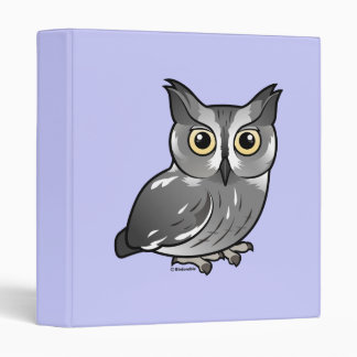 Western Screech Owl Binders
