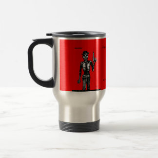 Western Skeleton Gunfighter - Smokin' Coffee Mug