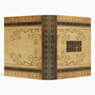 Western Stitched Recipe Binder
