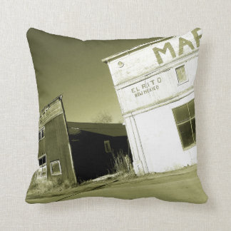 Western Store Front Throw Pillow