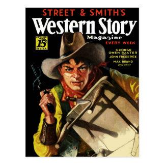 Western Story Magazine # 23 Postcard