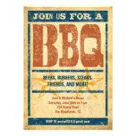 Western Style BBQ Invitations