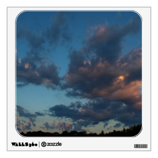 Western Sunrise Sky and Clouds Summer 2016 Wall Sticker