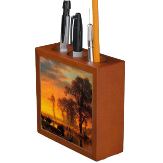 Western Sunset Pencil Holder