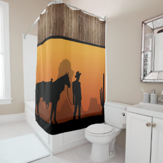 Cowboy Shower Curtains | Zazzle Canada