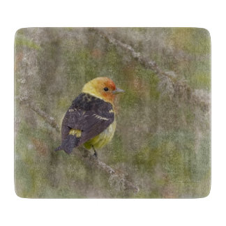 Western Tanager Cutting Board