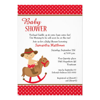... Shower Invites, 200 Western Themed Baby Shower Invitation Templates