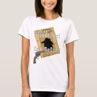 "Western ""This Cowgirl Can't Be Tamed"" Ladies Shirt"