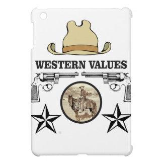 western value art iPad mini cover