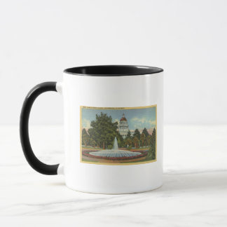 Western View of the State Capitol Mug