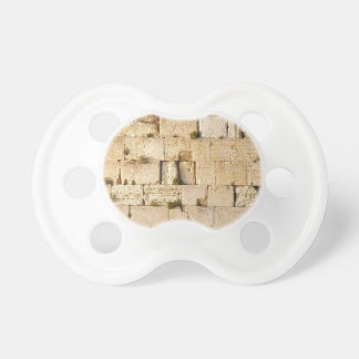 Western Wall Baby Pacifier