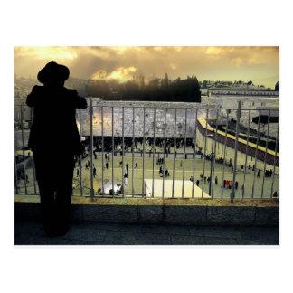 Western Wall, Jerusalem, Holy Land Postcard