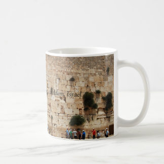 Western Wall of Temple, Jerusalem, Israel mug