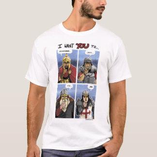 Western Warrior Grid T-Shirt