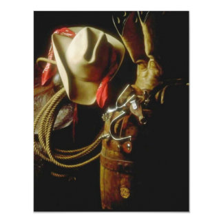 WESTERN WEAR TACK WAITS ARRIVAL HOME PARTY INVITES