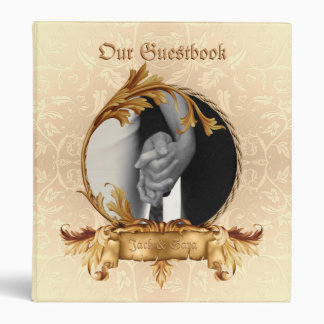Western Wedding Guestbook OR Scrapbook Vinyl Binder