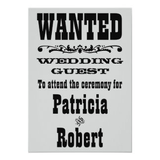 Western Wedding | Invitation