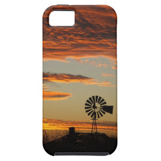 Western Windmill Sunset iPhone 5 Case