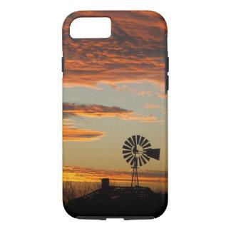 Western Windmill Sunset iPhone 7 Case
