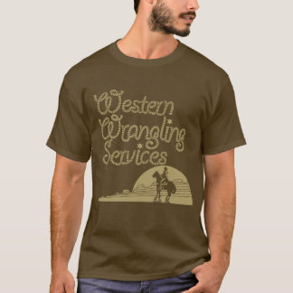 Western Wrangling Services T-Shirt